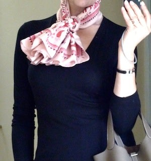 Pleated Bow Knot