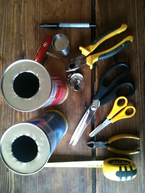 Make a tennis ball mortar out of Pringles tubes