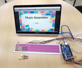 Music Assembler: Integrated Virtual Musical Instrument With Block-Typed Touch Sensor