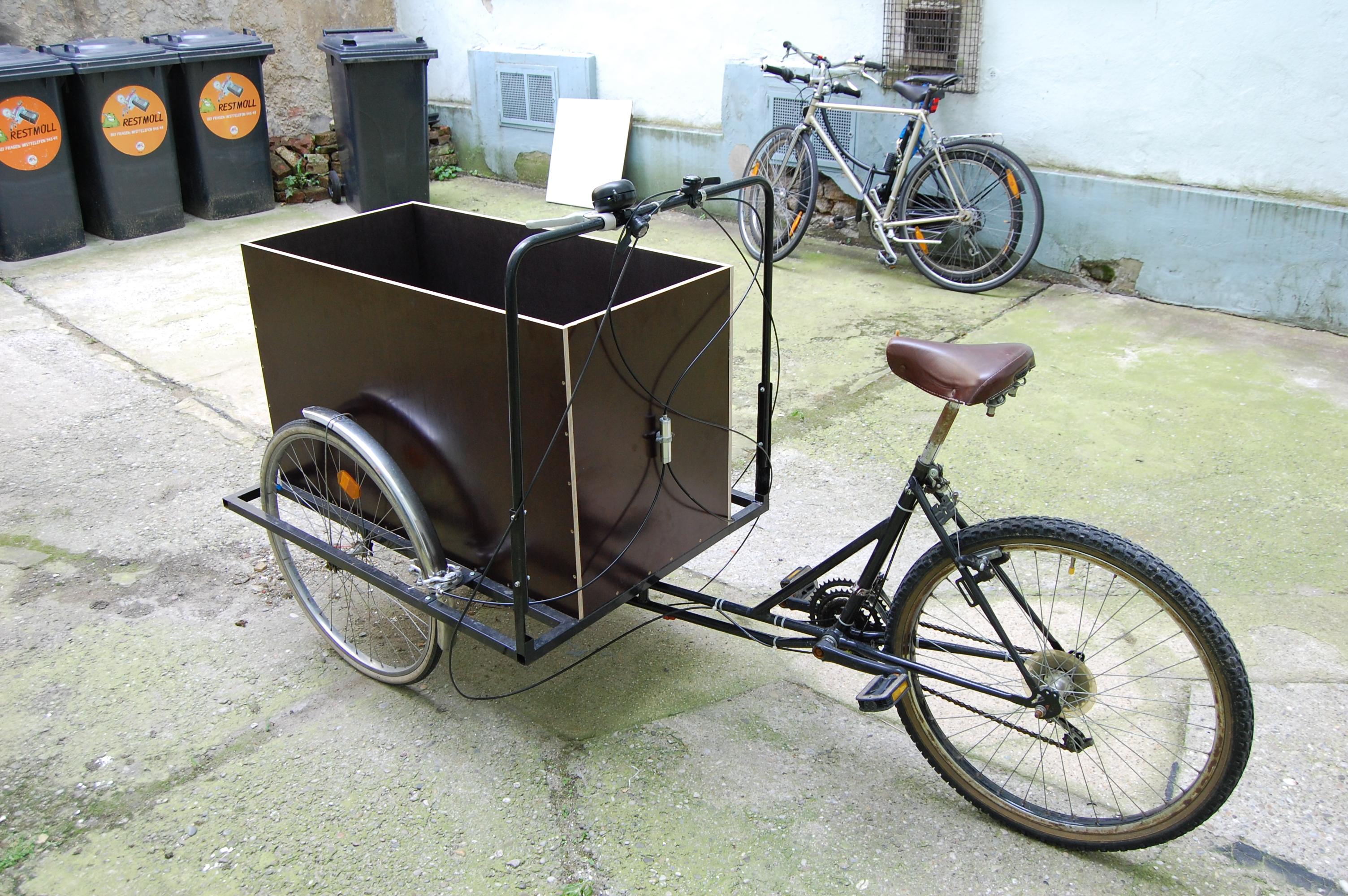 how to build a cargo bike
