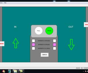 ABB PLC用于停车场障碍系统的编程