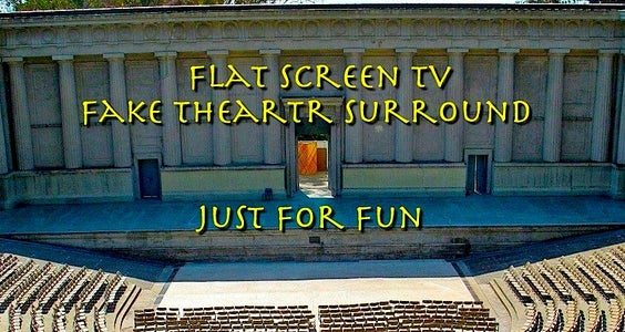 Fun Flat Screen Surround
