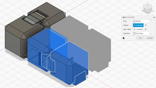 Mirroring/Duplicating Cubes