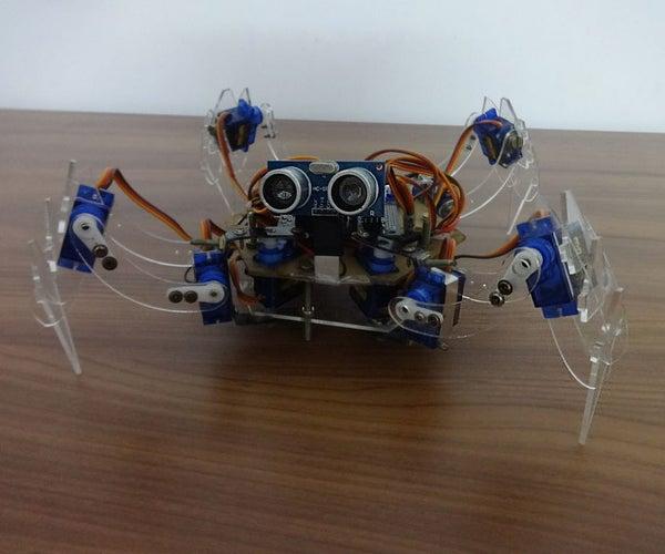 QUATTRO - the Arduino Quadruped Robot