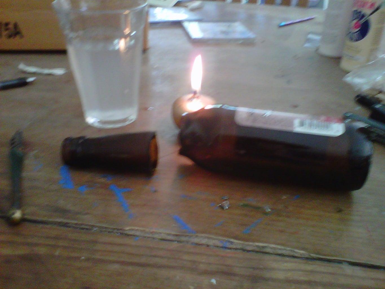 Breaking the Bottle.