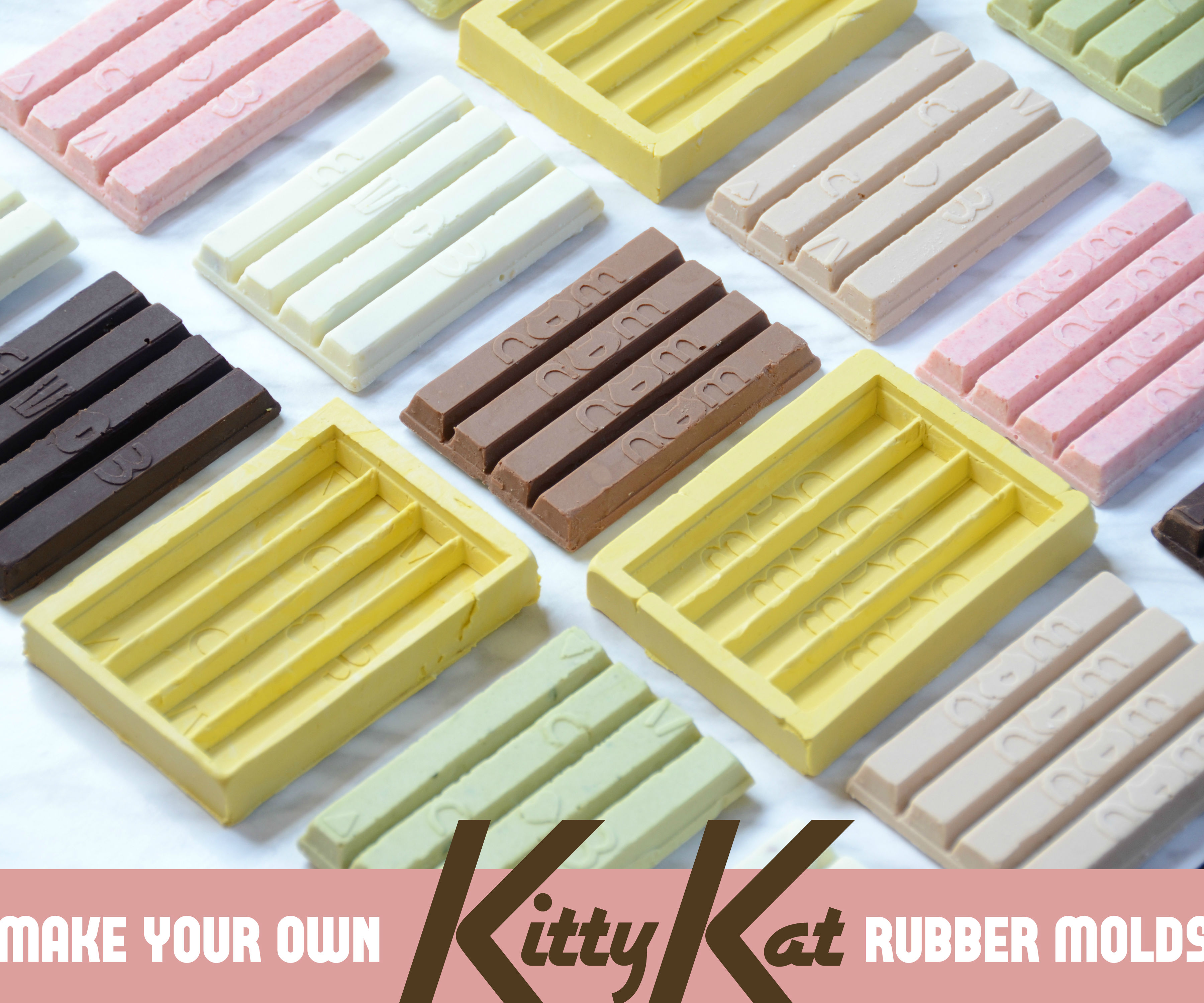 DIY Kit Kat Molds