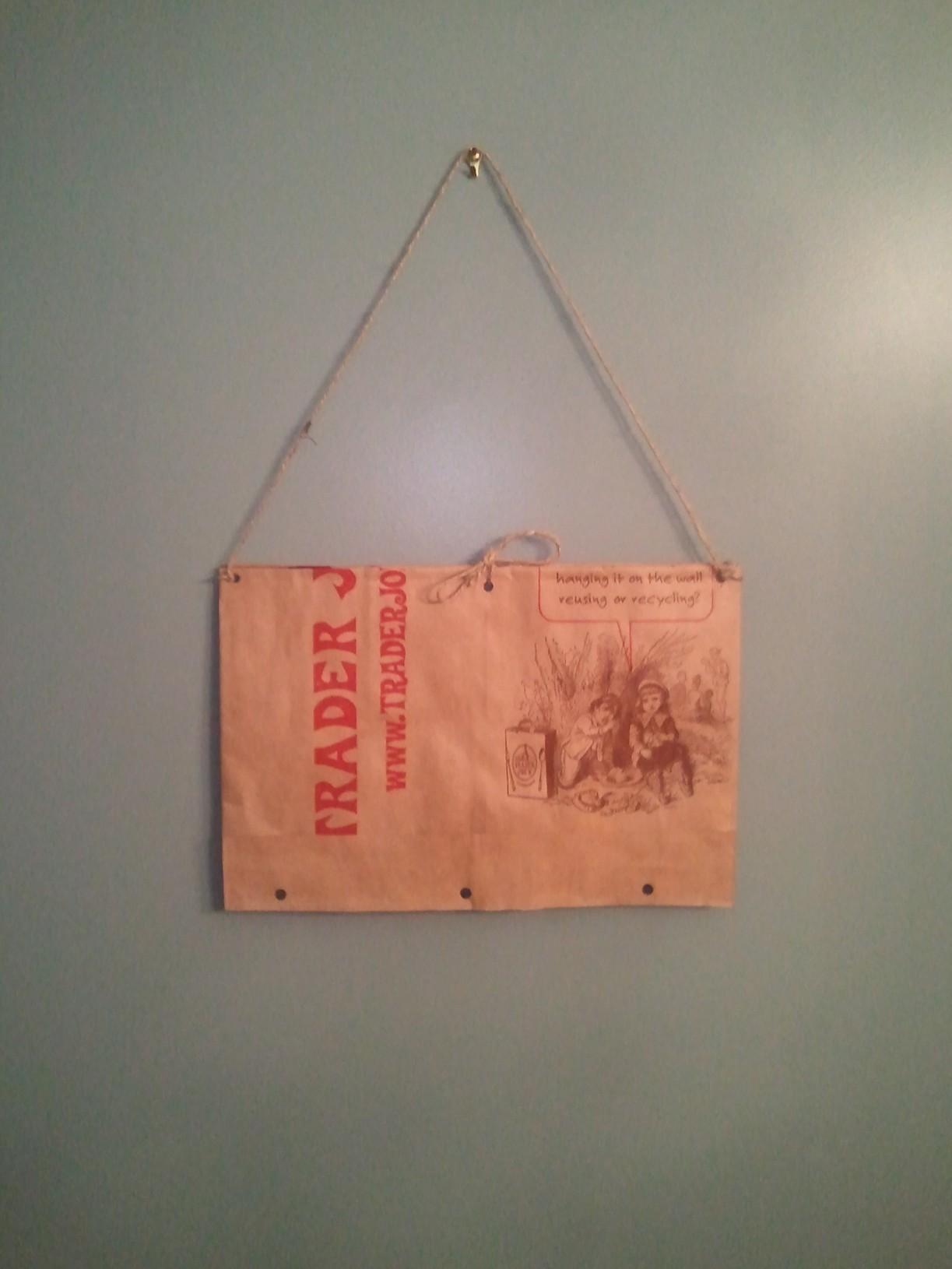 Paper Bag Folder Bag