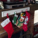 DIY: Christmas Stocking Holder