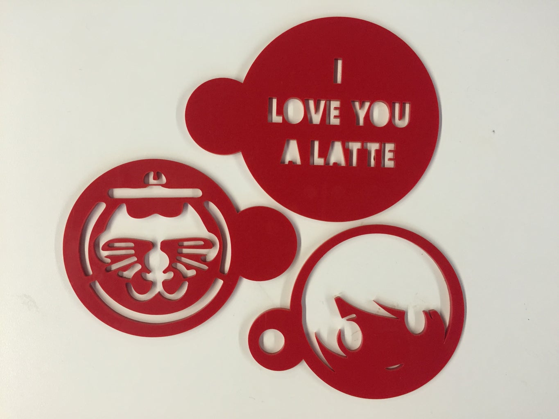 Laser Cut Coffee Stencil Using TinkerCAD