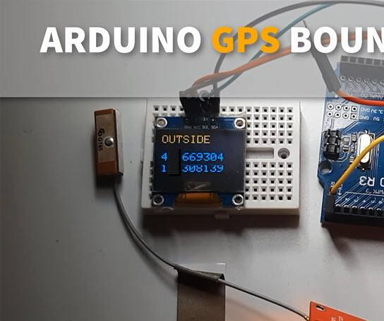 Make GPS BORDER BOUNDARIES Using Arduino