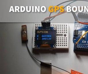 Make GPS BORDER BOUNDARIES Using Arduino