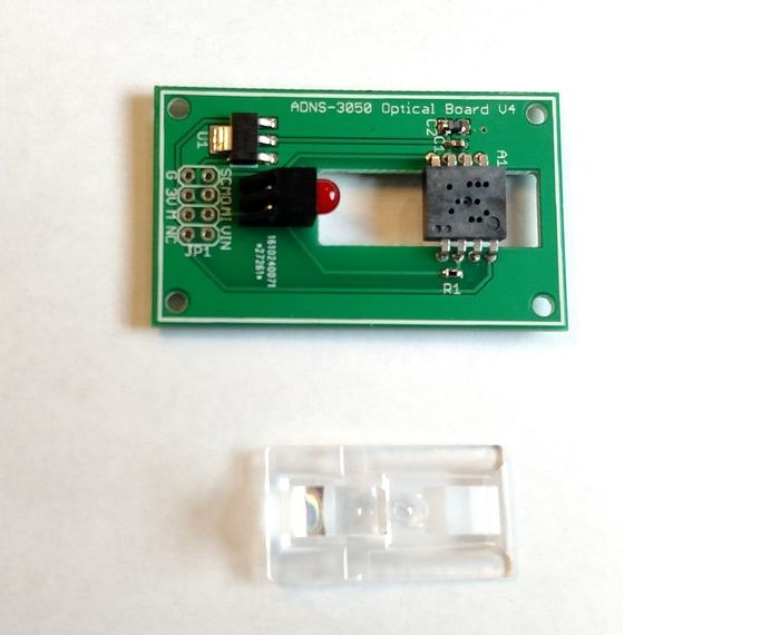 Interfacing with a Mouse sensor (ADNS-3050)
