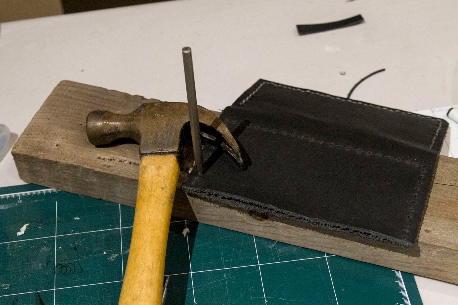 Step 7: Make Stitch Holes