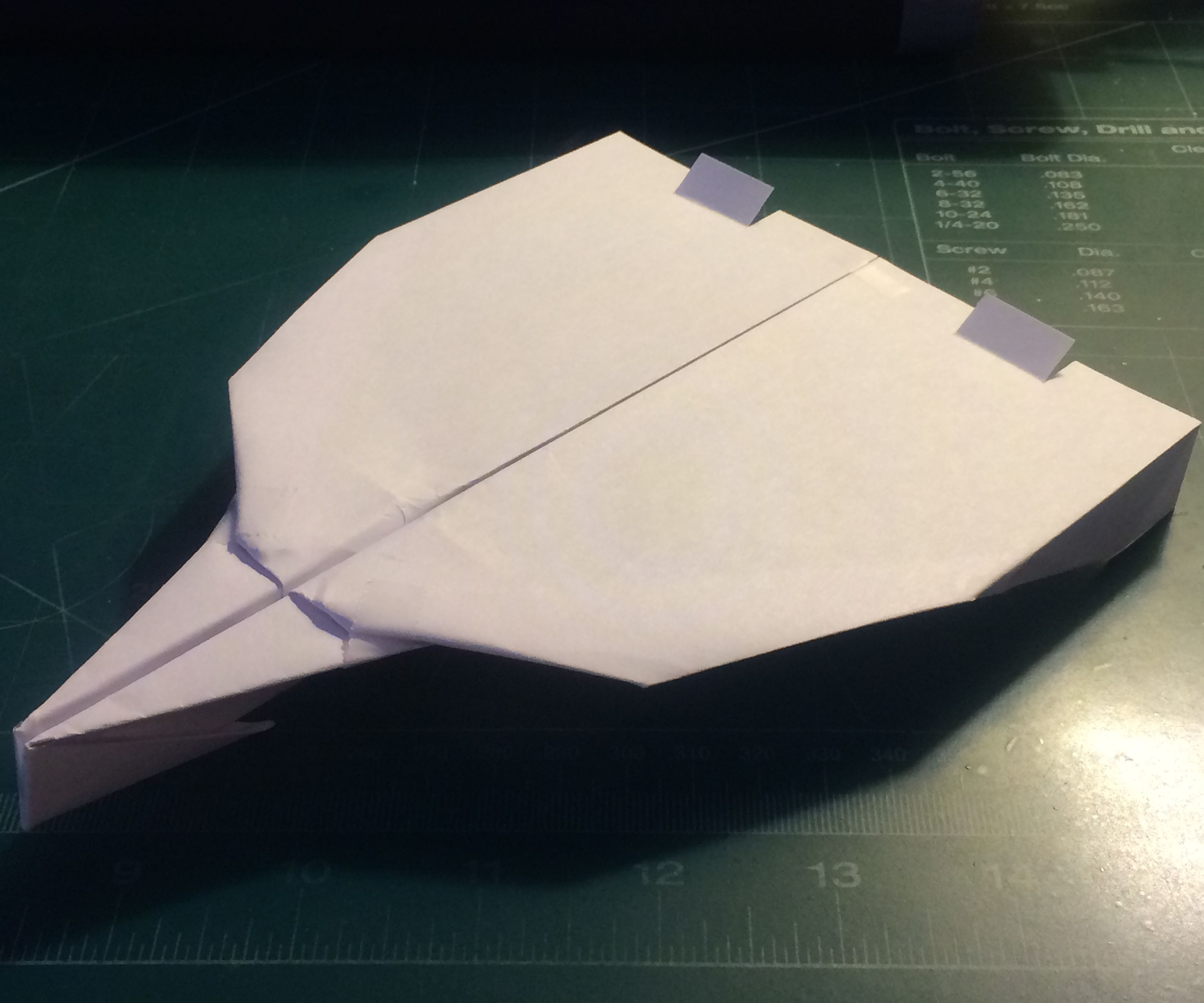 How To Make The Turbo UltraSabre Paper Airplane