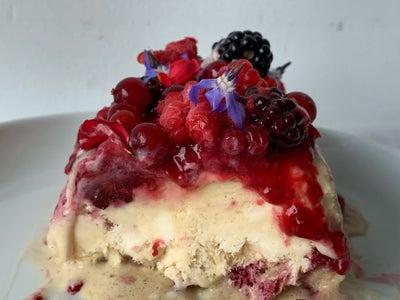 Semifreddo With Berries and Honey