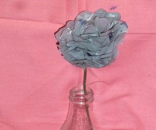 DIY Plastic Bag Flowers