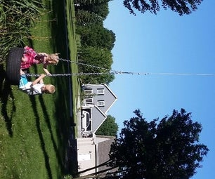 Super Yard Swing for Kids (and Dads)