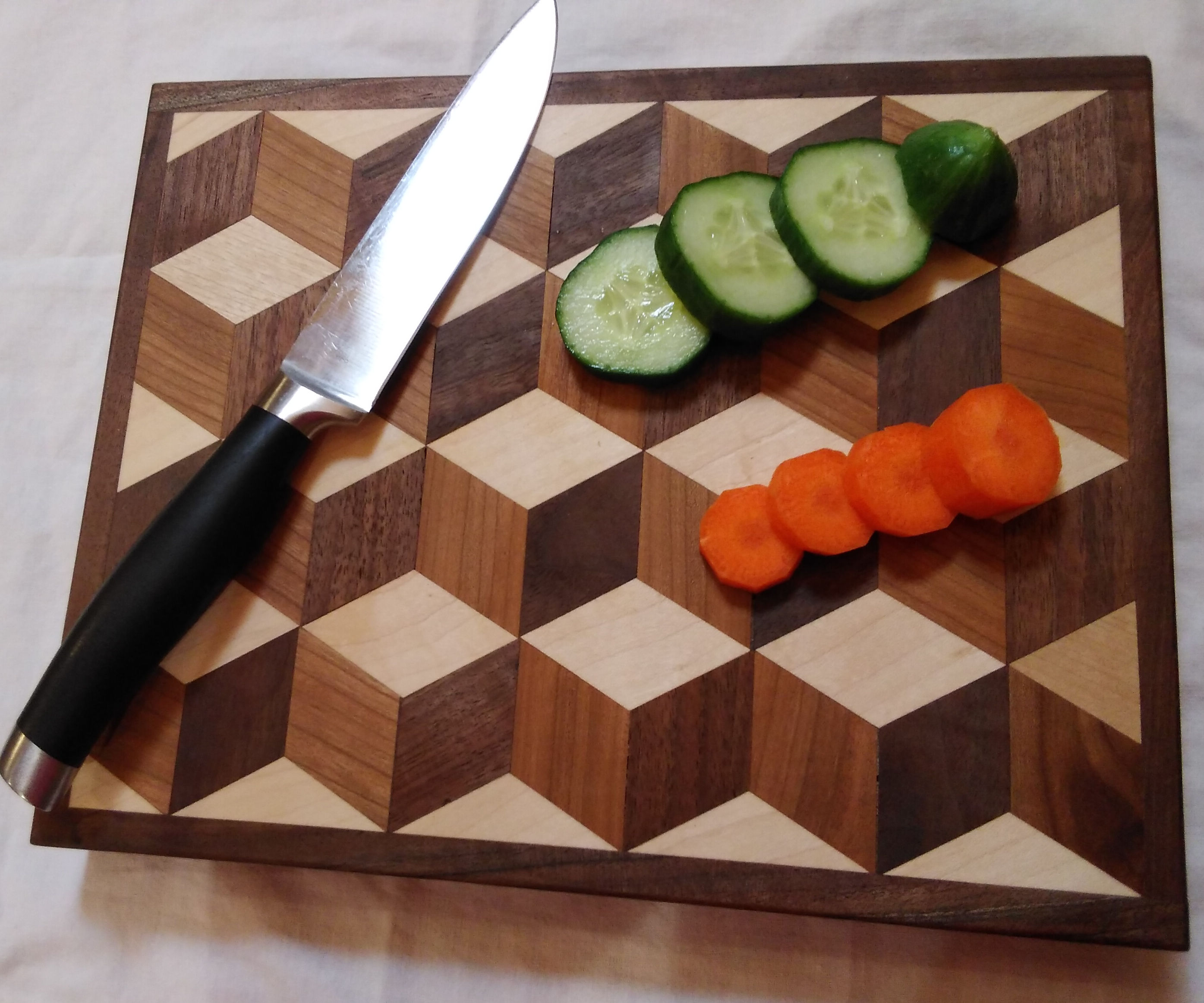 3D Endgrain Cutting Board