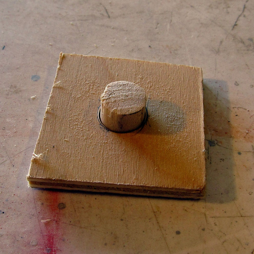 Cutting and Drilling the Wood.