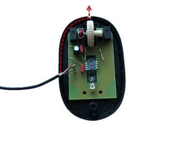 Insert the Circuit Board & the Cable Into the Base Plate