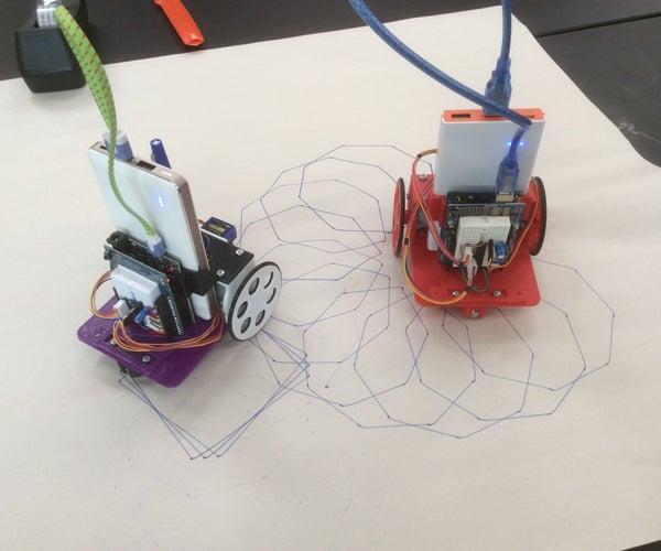 Build and Program an Arduino Drawbot