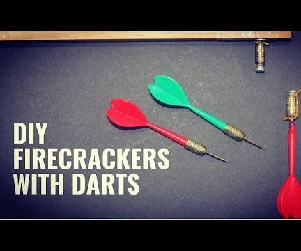 Fire Crackers With Darts