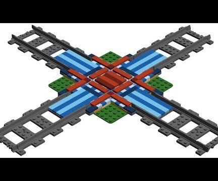 Lego Train Cross (X-Cross Track)