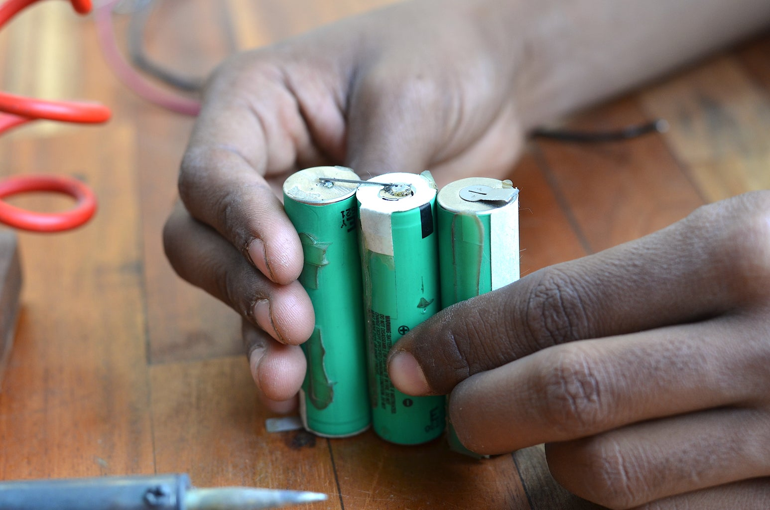 Making the Battery Pack