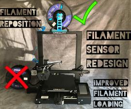 CR-6 SE 3D Printer Improvements