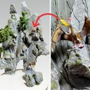 How to Make Jurassic Park Mountain Landscape Diorama | Artificial Fantasy Mountain | Dinosaur Valley