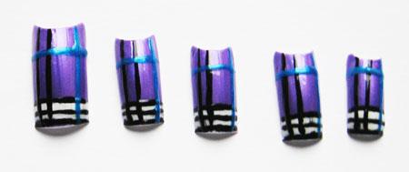 creative with nail polish