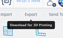 Export and Print
