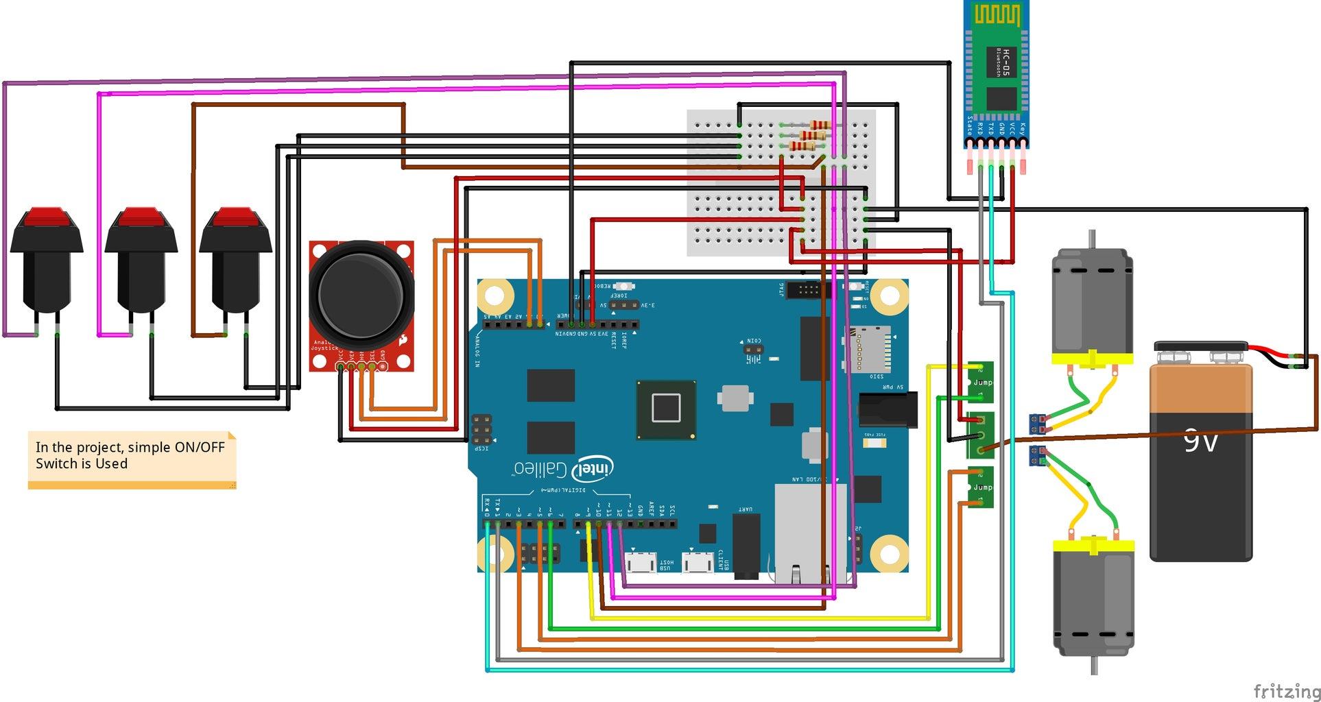 Interfacing Bluetooth With Intel Galileo