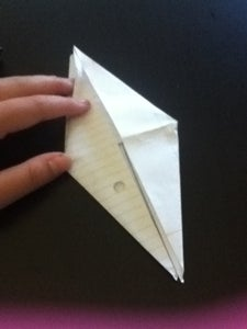 Finish Folding Bird Base
