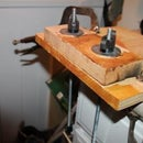 Horizontal Vise (My table top Shavehorse without the horse)