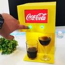 Make Coca Cola Soda Fountain Machine With 2 Drinks