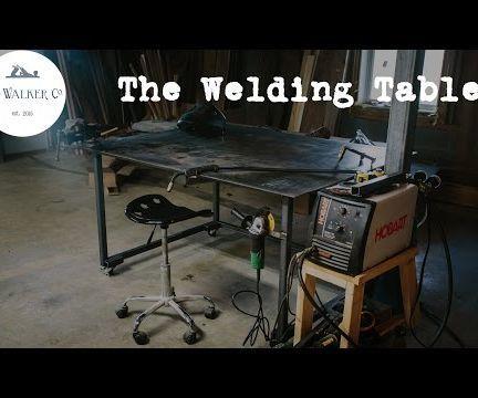 A Welding Table - Wm Walker Co style