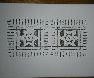 Brick Block Printing