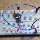 LED Blinker and PWM Oscillator Using 555 Timer