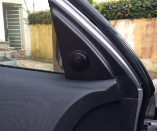 How to Install a Tweeter Into Hyundai I30 (or Any Other Car)