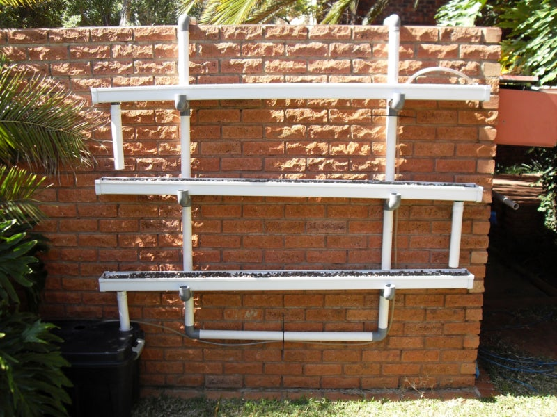 Clip On Hydroponic Wall Garden 16 Steps With Pictures Instructables
