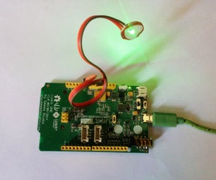 Linkit One Pulse Rate Monitor