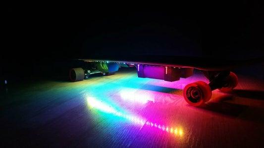 3D Printed Electric Longboard
