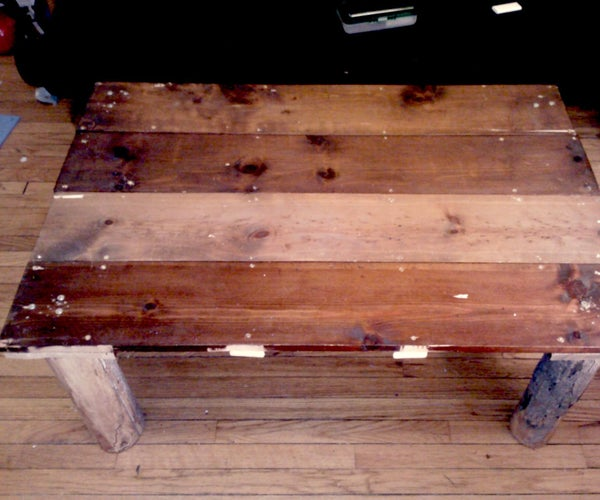 Reclaimed Wood Coffee Table.