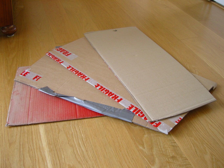 Get Some Cardboard !