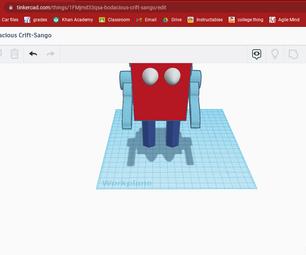 Box Bot (TinkerCAD)