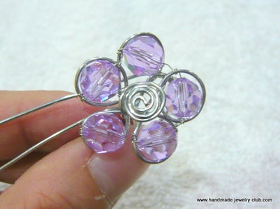 Flower and Leaf Ring Jewelry Making Tutorial