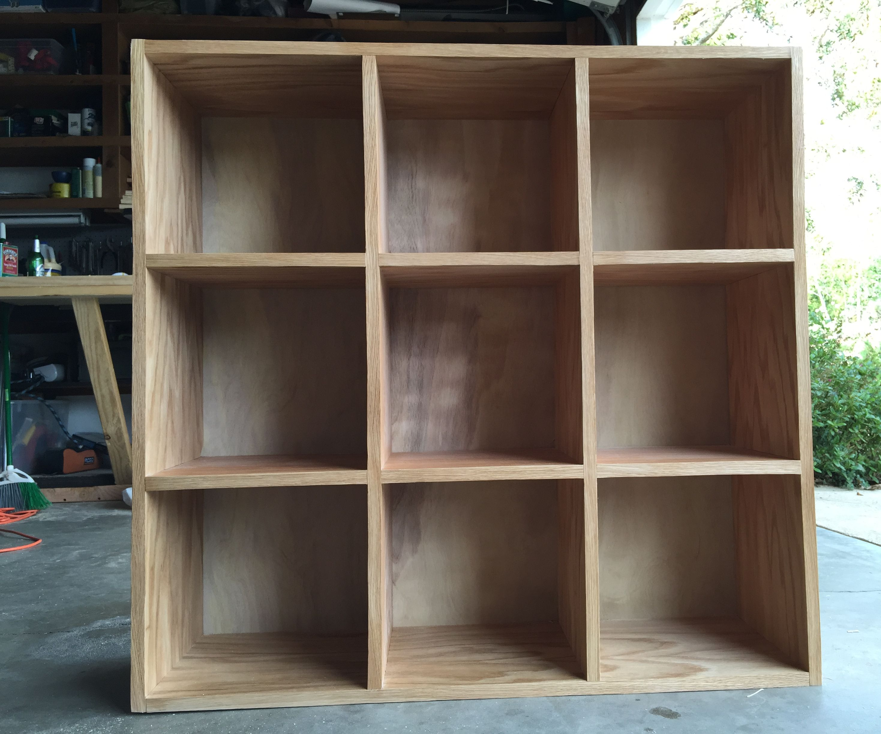 Bookcase Storage Cubby Unit