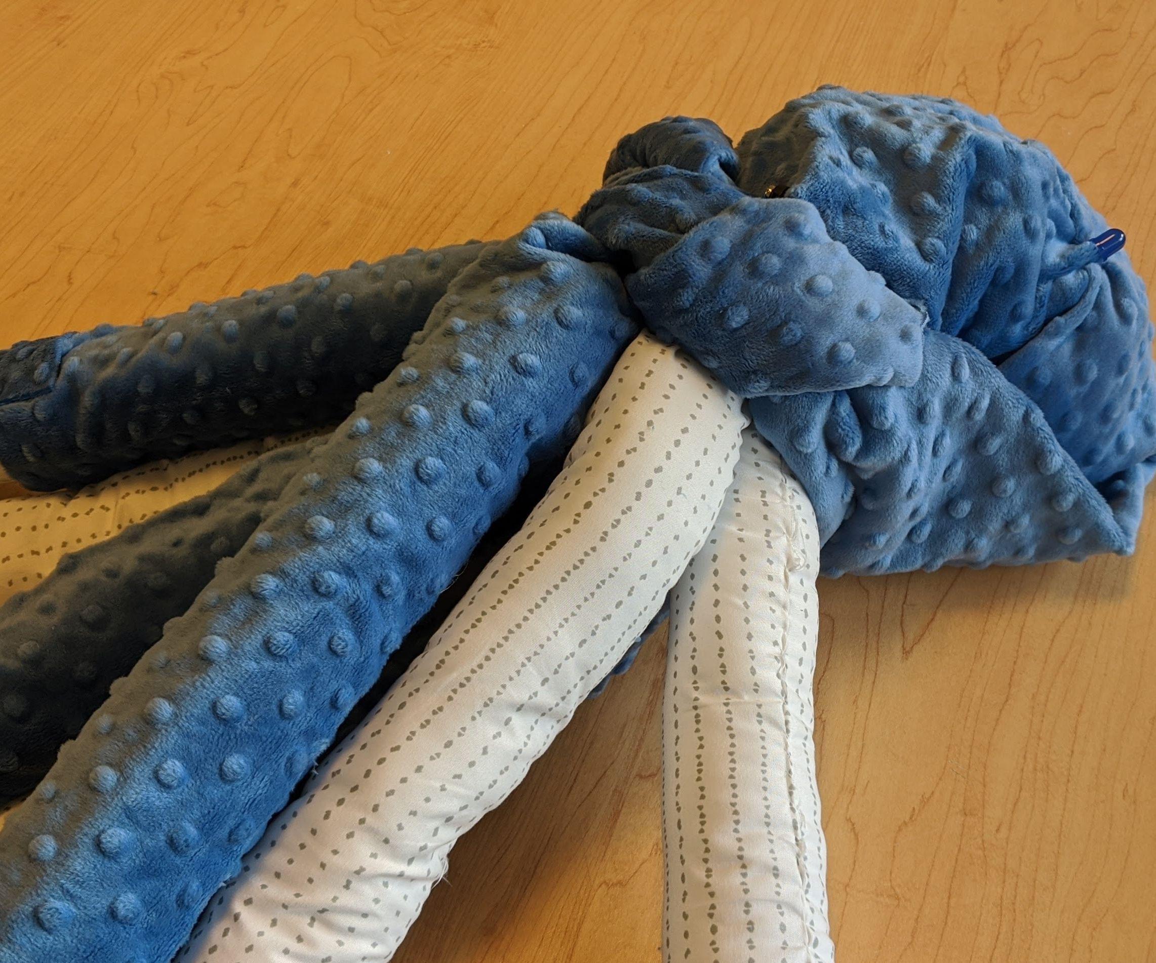 Octo-hugs: a *Huggable* Octopus Plush Toy