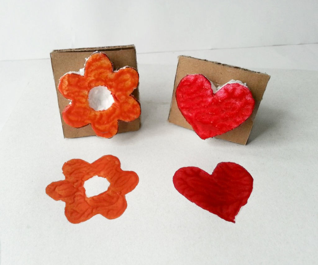 DIY Styrofoam Stamps